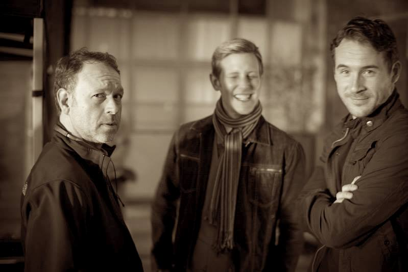 Ted Sullivan (left), Gabriel Mann (middle), Barry Sloane (right)