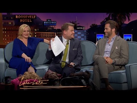Patricia Arquette, James Corden, Chris Pine