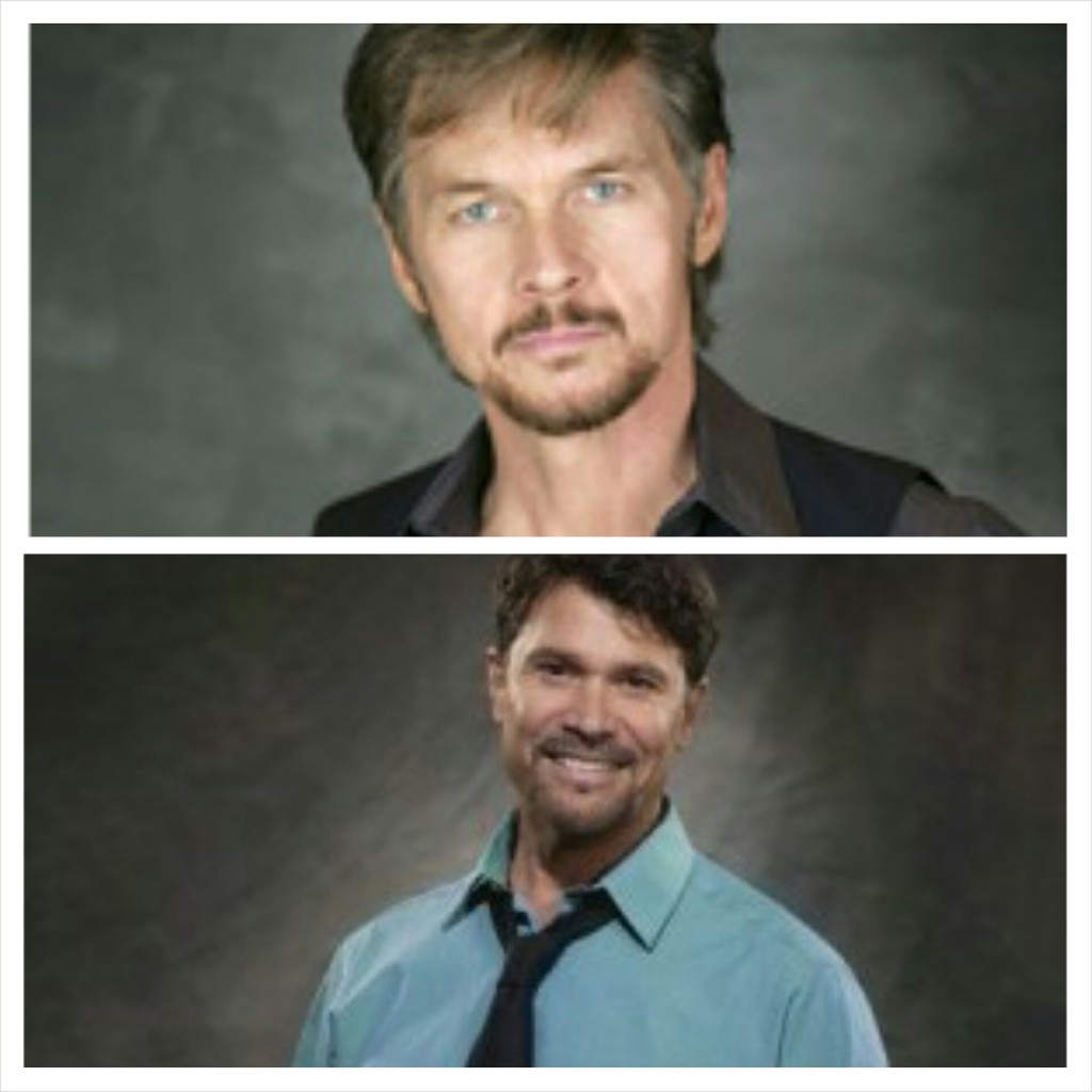 Stephen Nichols and Peter Reckell