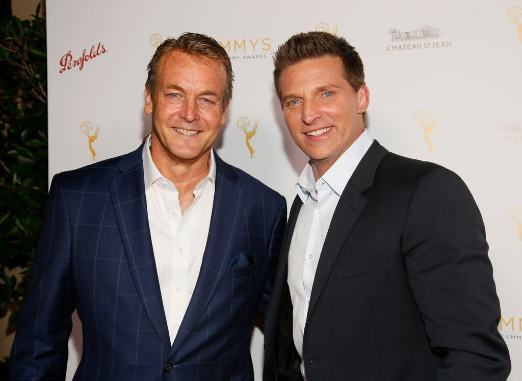 Doug Davidson & Steve Burton/Photo Credit: Invision for Television Academy/AP Images