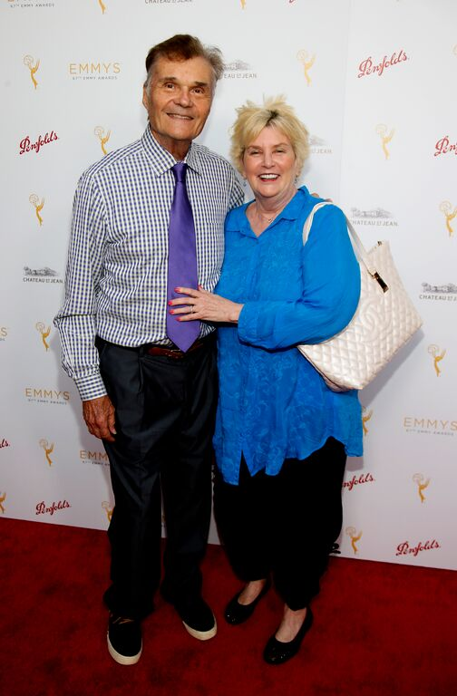 Fred Willard & Mary Lovell/Photo Credit: Invision for Television Academy/AP Images