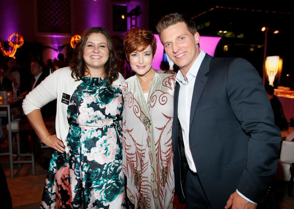 Angelica McDaniel, Carolyn Hennesy, & Steve Burton/Photo Credit: Invision for Television Academy/AP Images