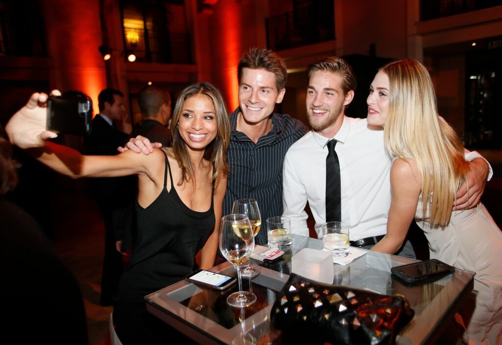 Brytni Sarpy, Robert Palmer Watkins, Logan Luedtke, & Hayley Erin/Photo Credit: Invision for Television Academy/AP Images