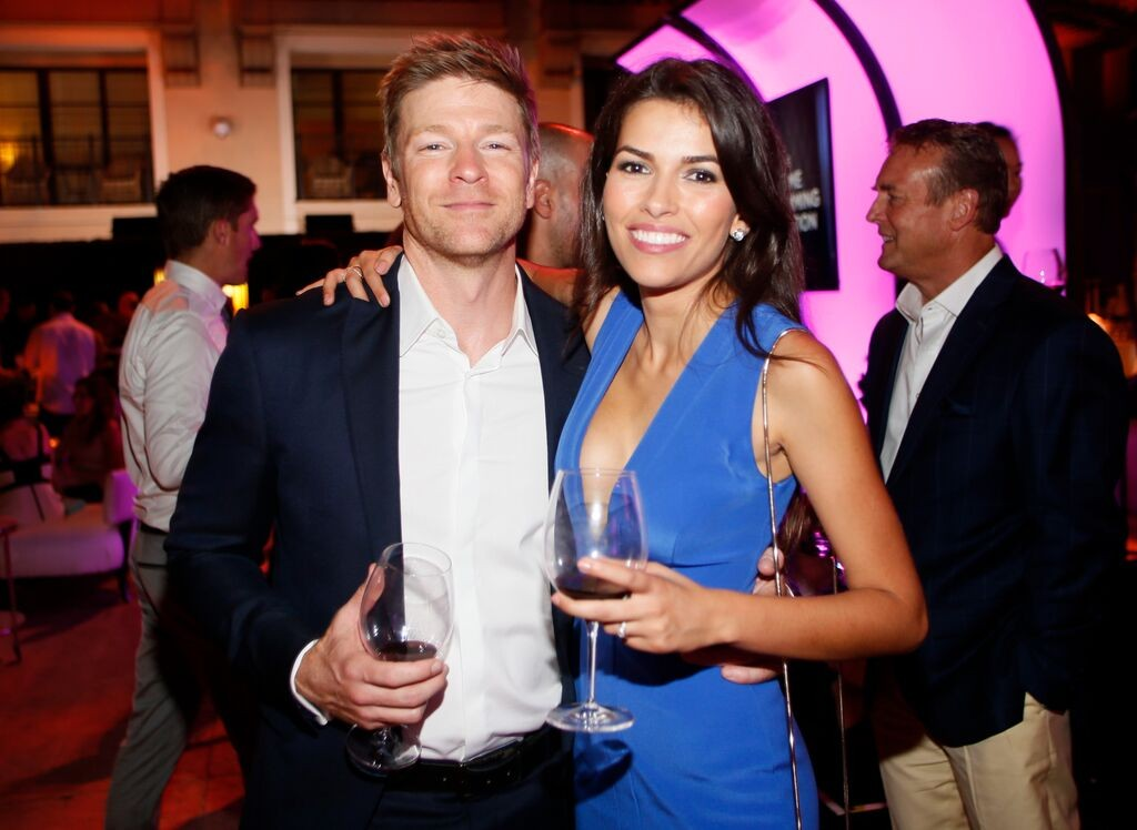 Burgess Jenkins & Sofia Pernas/Photo Credit: Invision for Television Academy/AP Images