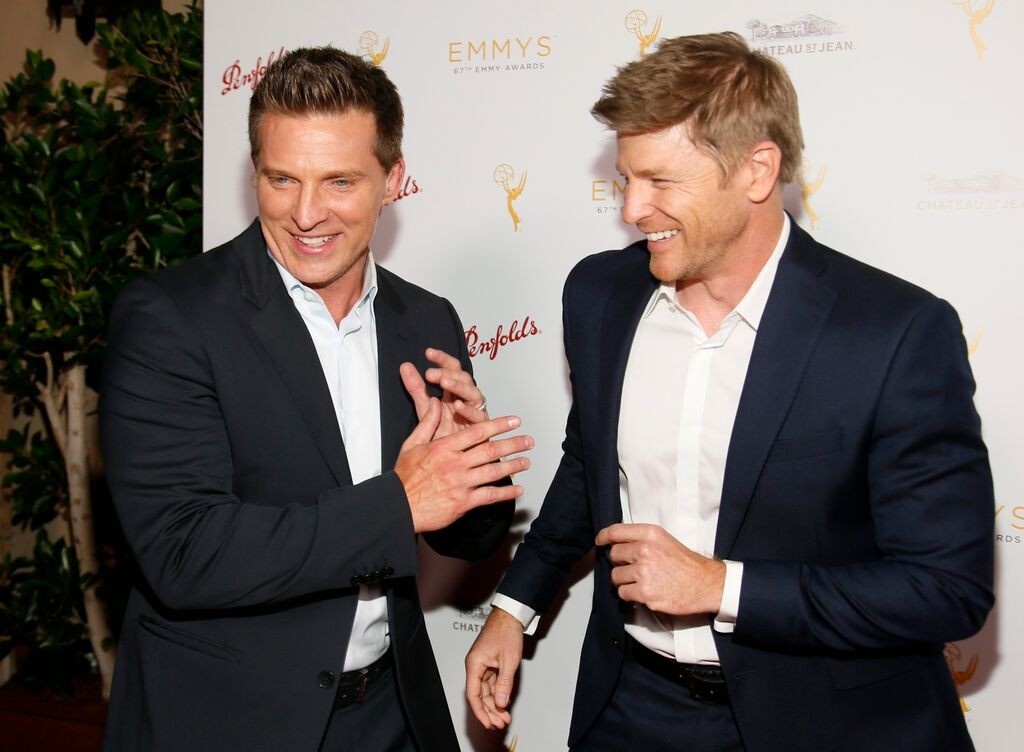 Steve Burton & Burgess Jenkins/Photo Credit: Invision for Television Academy/AP Images