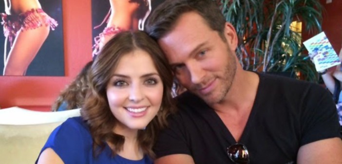 Jen Lilley and Eric Martsolf
